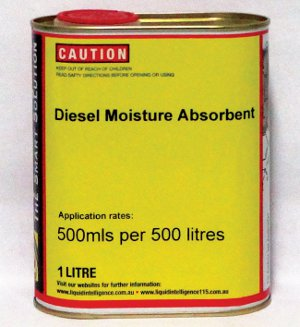 Liquid Intelligence Diesel Moisture Absorbent