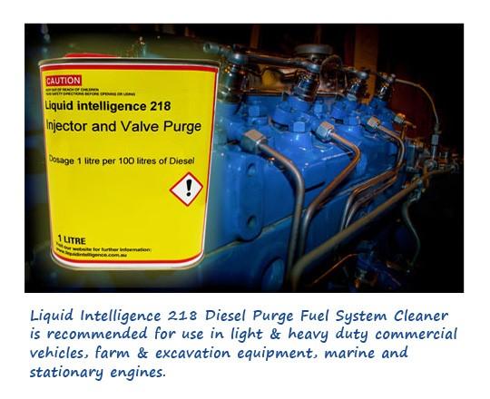 Liquid Intelligence 218 Diesel Purge And Restore Fuel System Cleaner