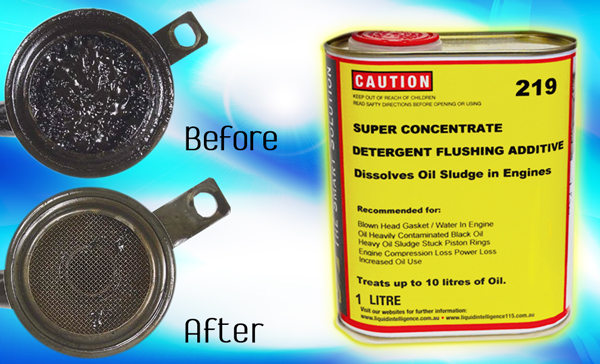 Super Concentrate Engine Flushing Additive