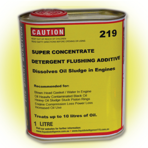 Liquid Intelligence 219 Super Concentrate Engine Flushing Additive