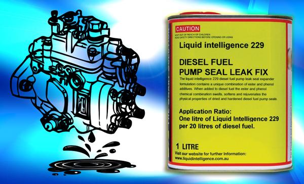 Diesel Fuel Pump Seal Leak Fix