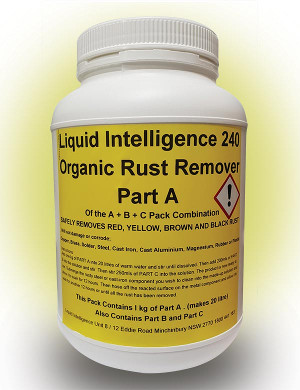 Liquid Intelligence 240 Organic Rust Remover