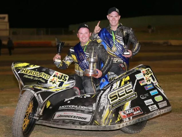 Darrin Treloar and Jesse Headland Win Using Liquid Intelligence 115