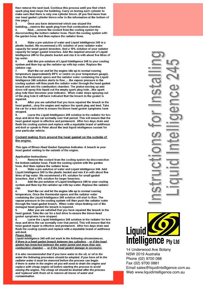 Best Head Gasket Sealer For Headgasket Leaks - YouTube