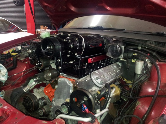 Holden Adventra 6.8 Litre Stroker Built Engine Close Up