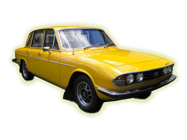 This is the same as Ron's 1974 Triumph 2500 TV
