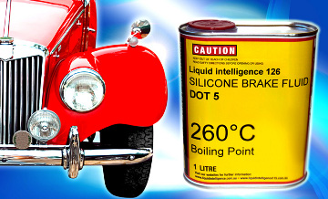Liquid Intelligence 126 Silicone Brake Fluid Dot 5