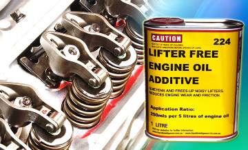 Liquid Intelligence 224 Lifter-Free Can Stop The Causes Of Lifter Clacking. Guaranteed.
