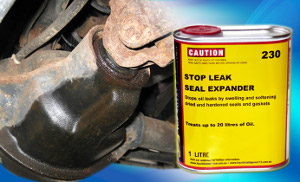 Liquid Intelligence 230 Will Stop Oil Leaks by Swelling and Softening Dried and Hardened Seals and Gaskets. Guaranteed.