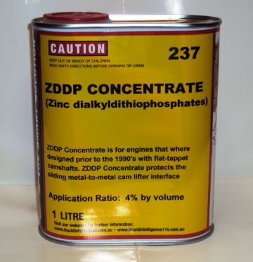 Liquid Intelligence 237 ZDDP Engine Oil Additive