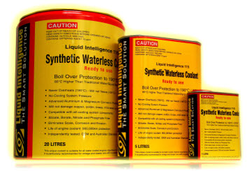 Liquid Intelligence 115 Super Waterless Coolant - Guaranteed No Overheating
