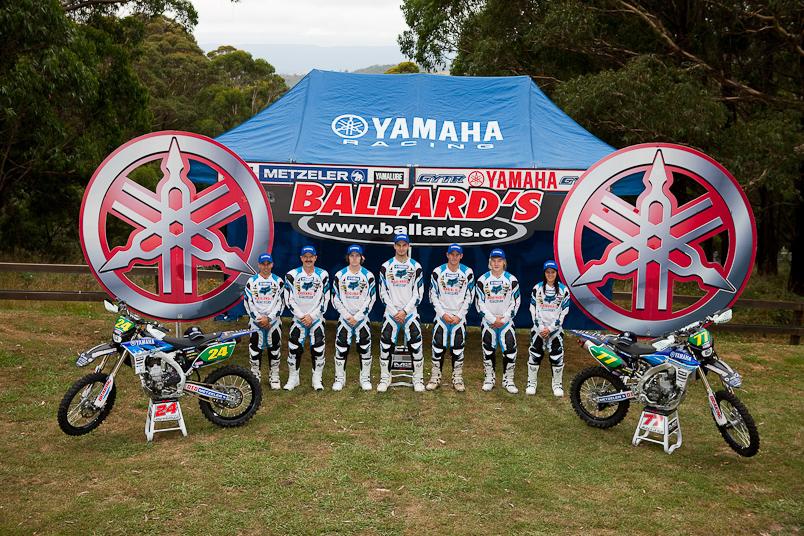Ballards Offroad Yamaha Racing Liquid Intelligence